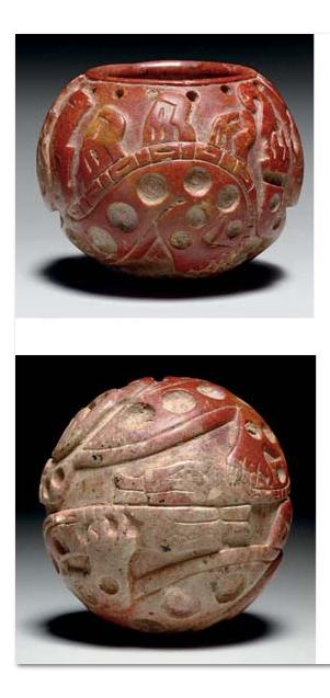RARE CHAVIN STEATITE VESSEL CUPINISQUE, CA. 900 - 600 B.C.