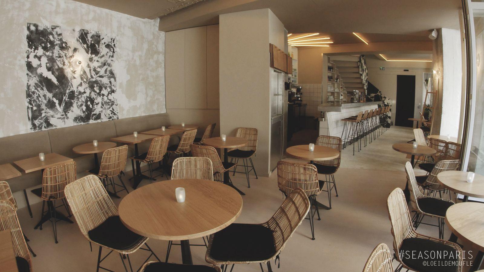 Season restaurant interieur bar 2 . paris .