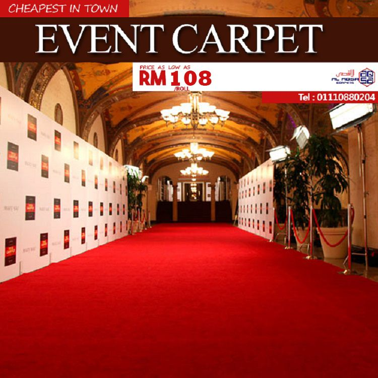 Cheap Event Carpet Making Your Event Look Good And Grand For Sale