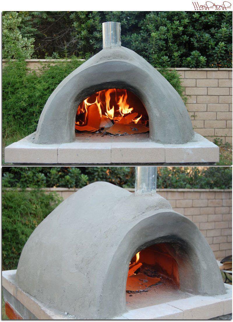 Backofen Selber Machen Klein Grill Und Feuerstellen Pizza