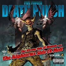 Five finger death punch-rong sude of heaven and the richous side of hell volume two