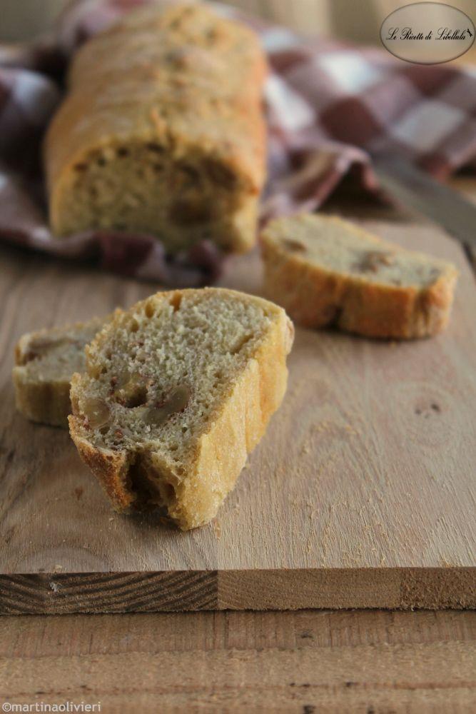 Pane con le noci - Senza impasto
