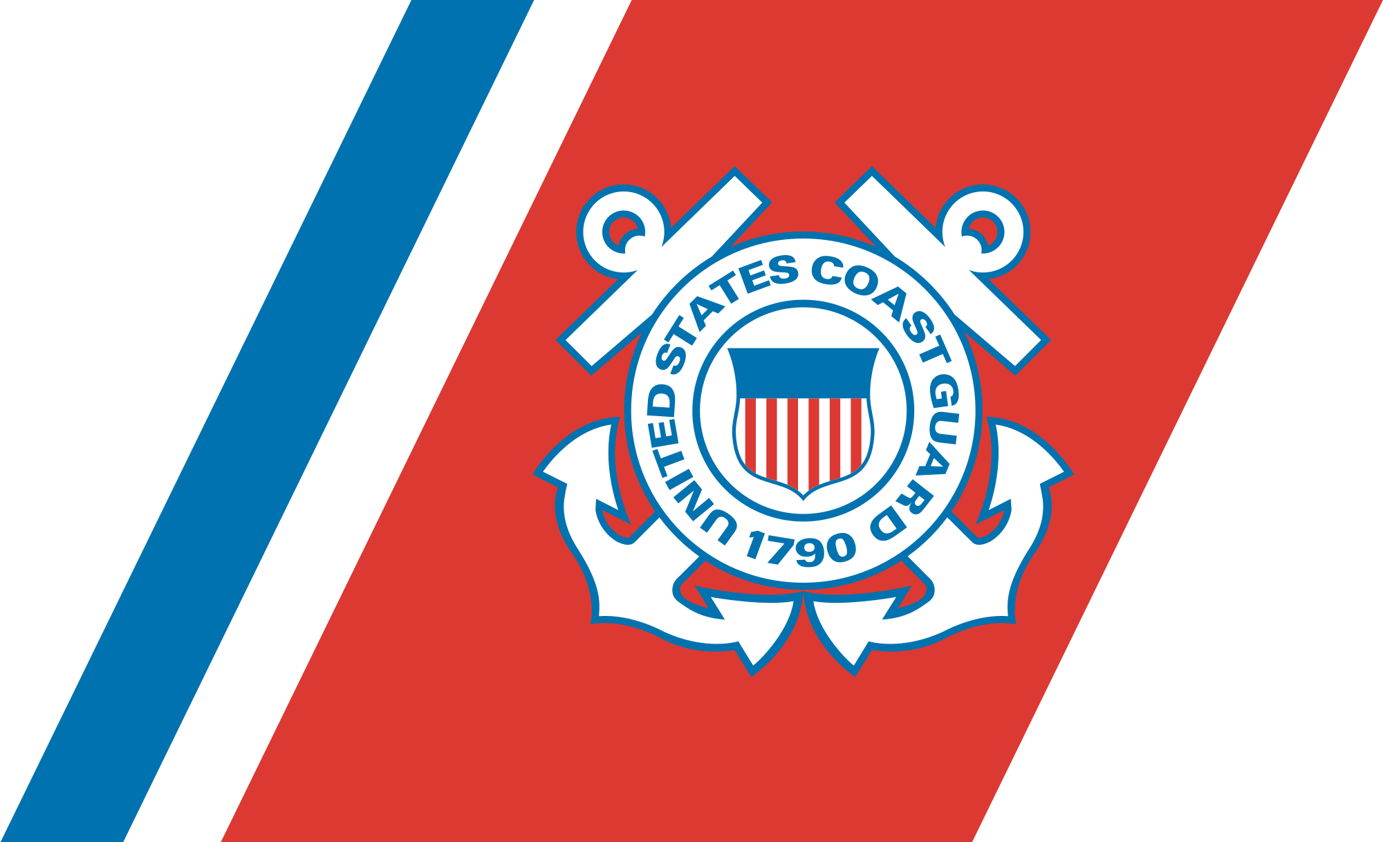 "Loewydesigned Coast Guard ""racing stripe."" Coast guard"