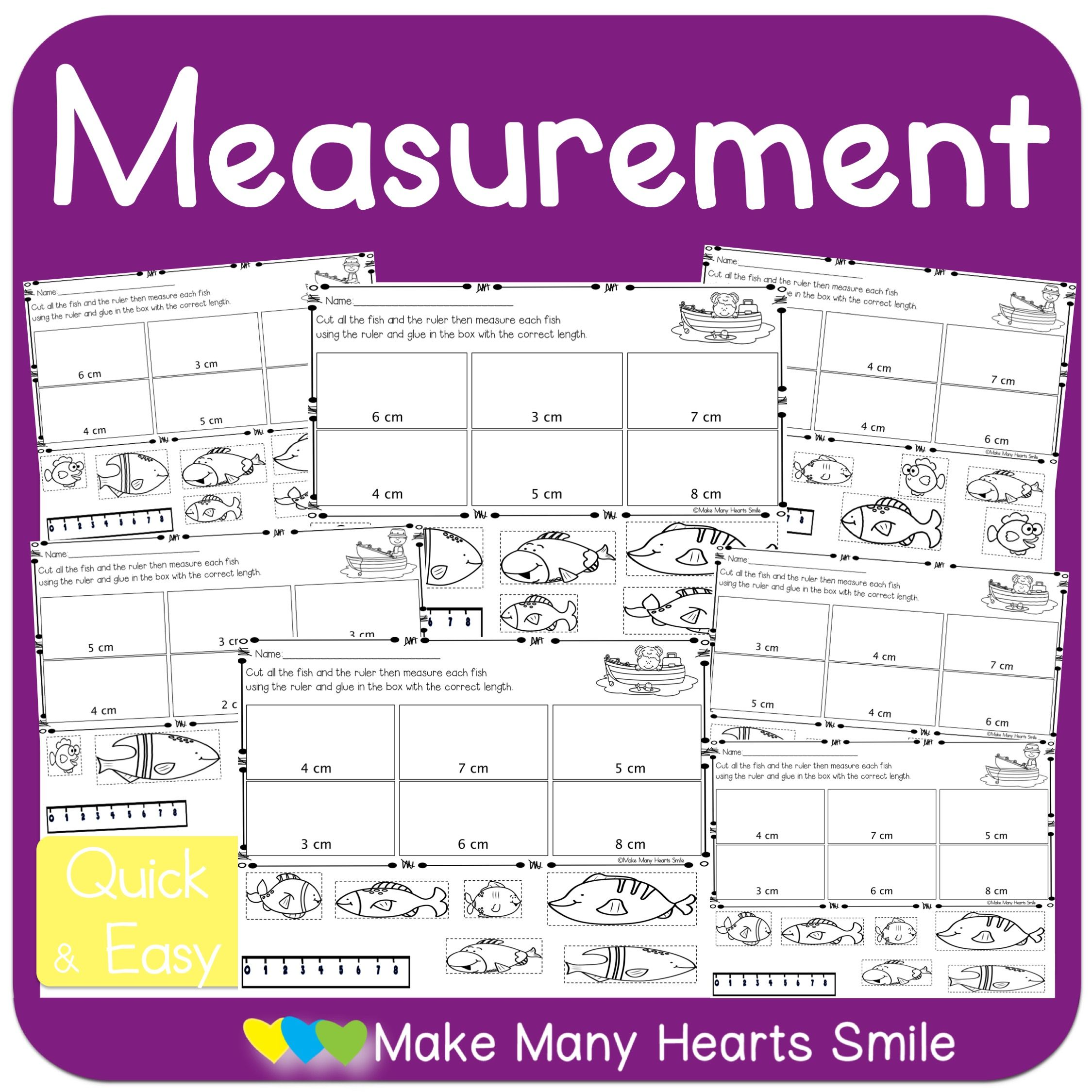 Measurement Centimeters Mhs11