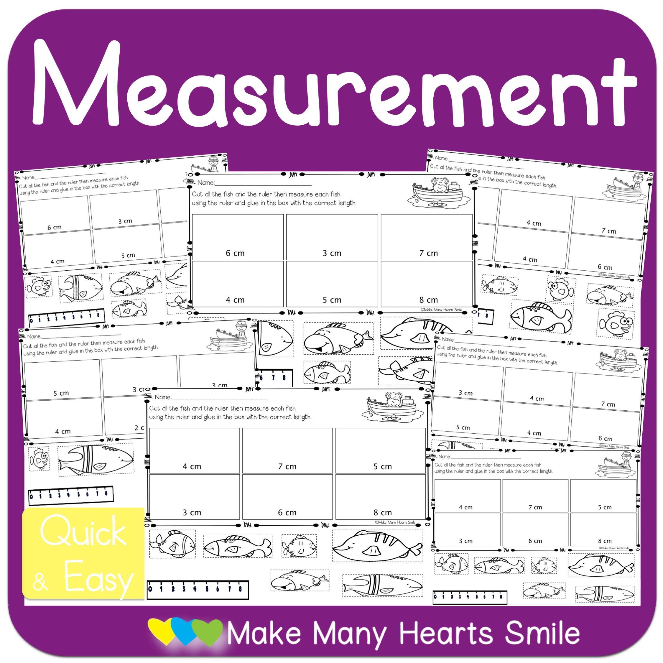 Measurement Centimeters Mhs11