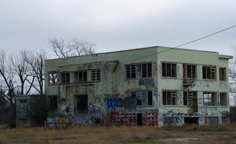 They say this old San Antonio Asylum is abandoned, but