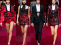 Dolce and Gabbana Spring 2015 RTW Collection at Milan Fashion Week #mfw