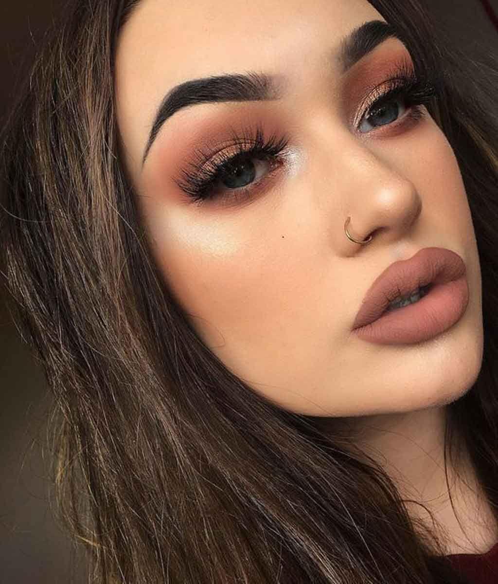 Maquillaje De Fiesta Para Morenas Timidas Kena Maquillaje Para Morenas Natural Maquillaje De Ojos Natural Maquillaje De Ojos