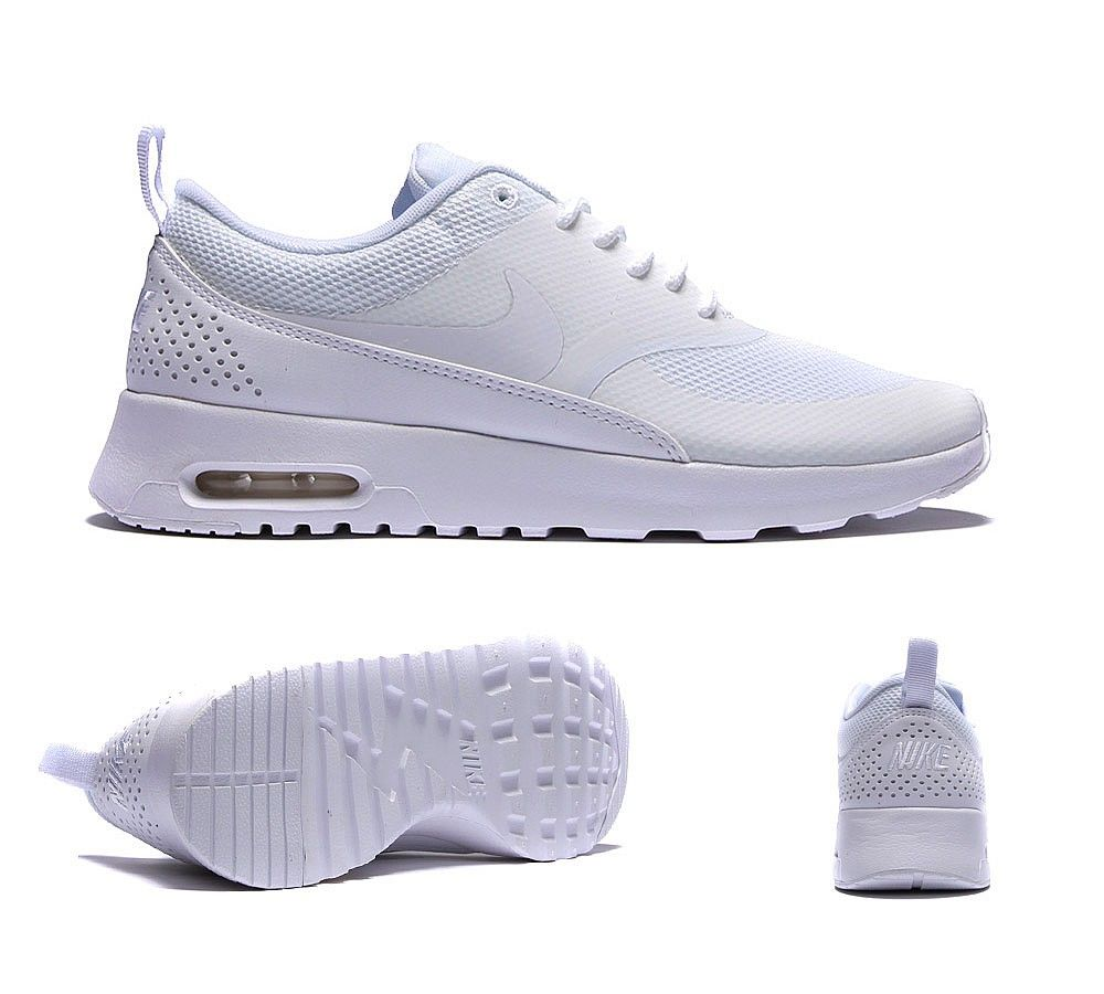 new product 01515 fcd93 Nike Air Max Thea Trainer   White   Footasylum