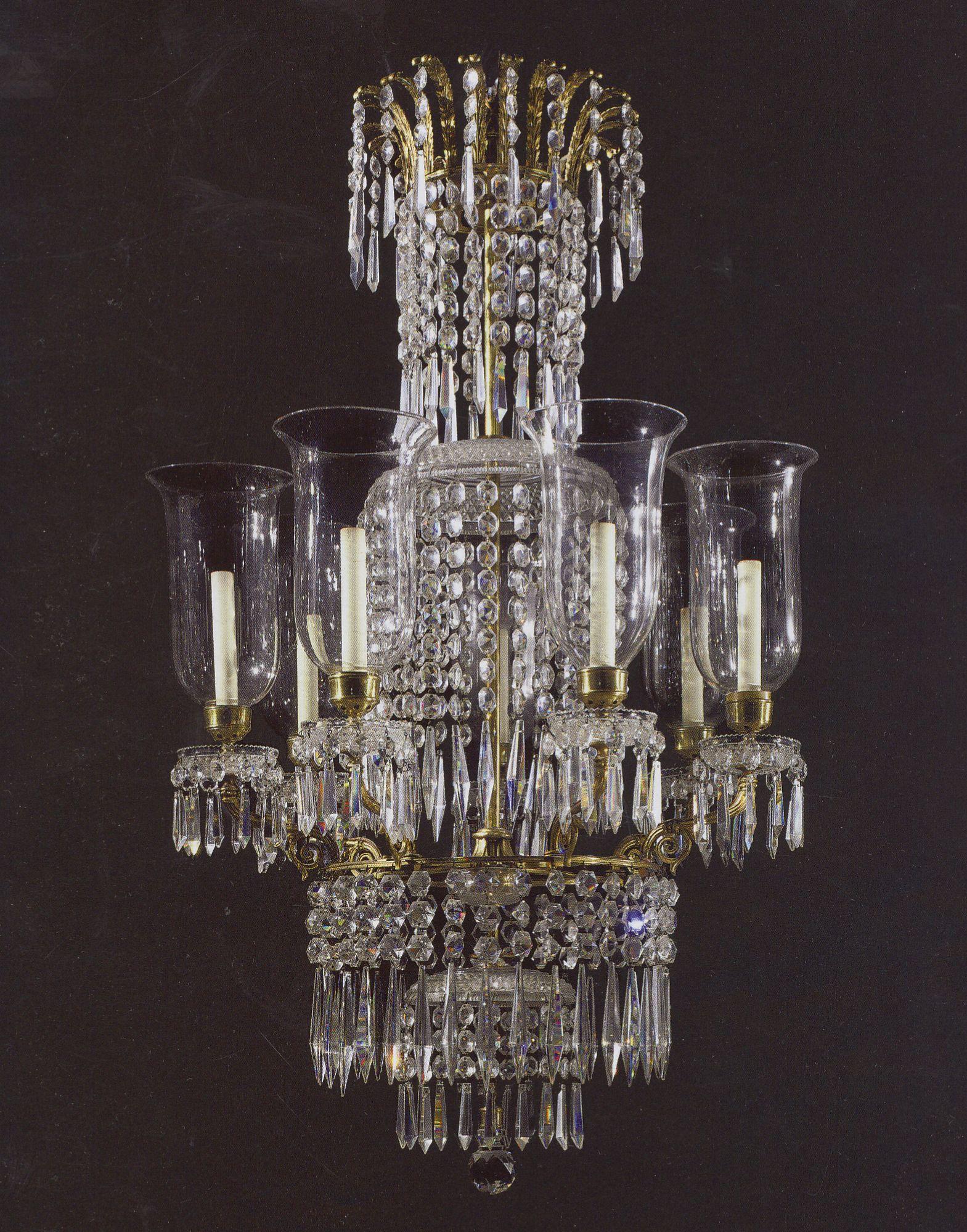 Regency ormolu and cut glass seven light chandelier english cerca regency ormolu and cut glass seven light chandelier english cerca 1810 exhibitor arubaitofo Gallery