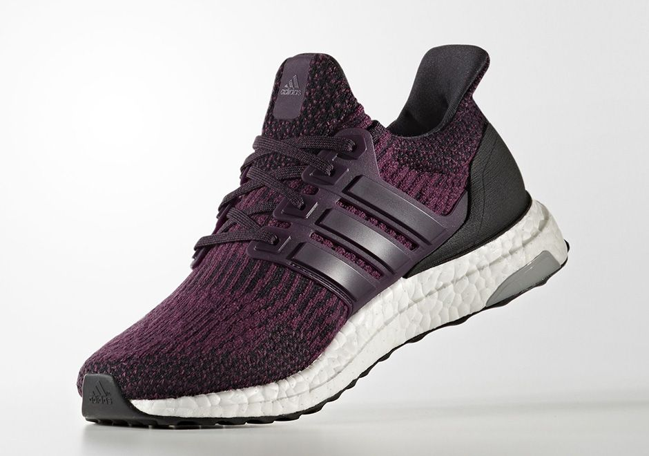 Adidas Women/'s Ultraboost PrimeKnit Running Shoes Black White Blue Red Sneakers
