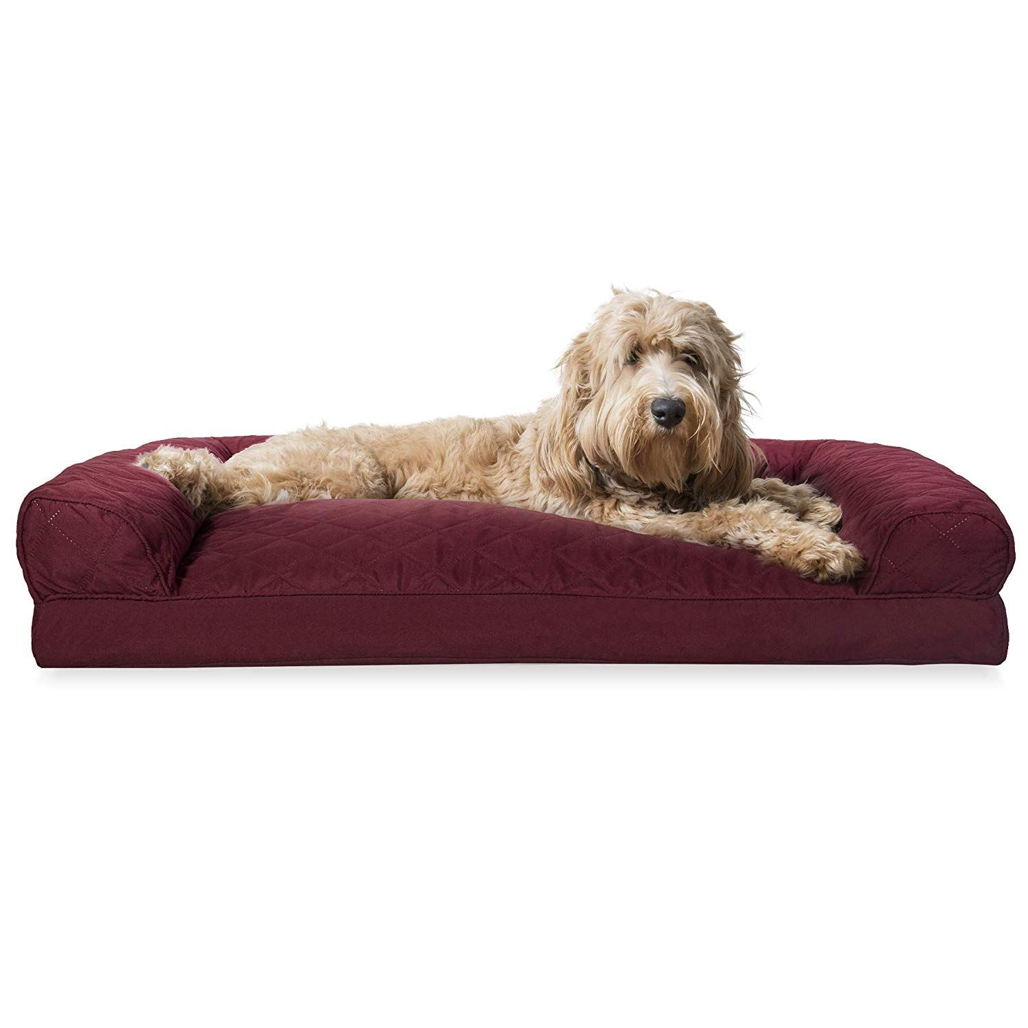 Furhaven Pet Dog Bed Quilted Pillow Cushion Traditional Sofa Style Living Room Couch Pet Bed W R Pet Sofa Bed Dog Bed Large Couch Pet Bed