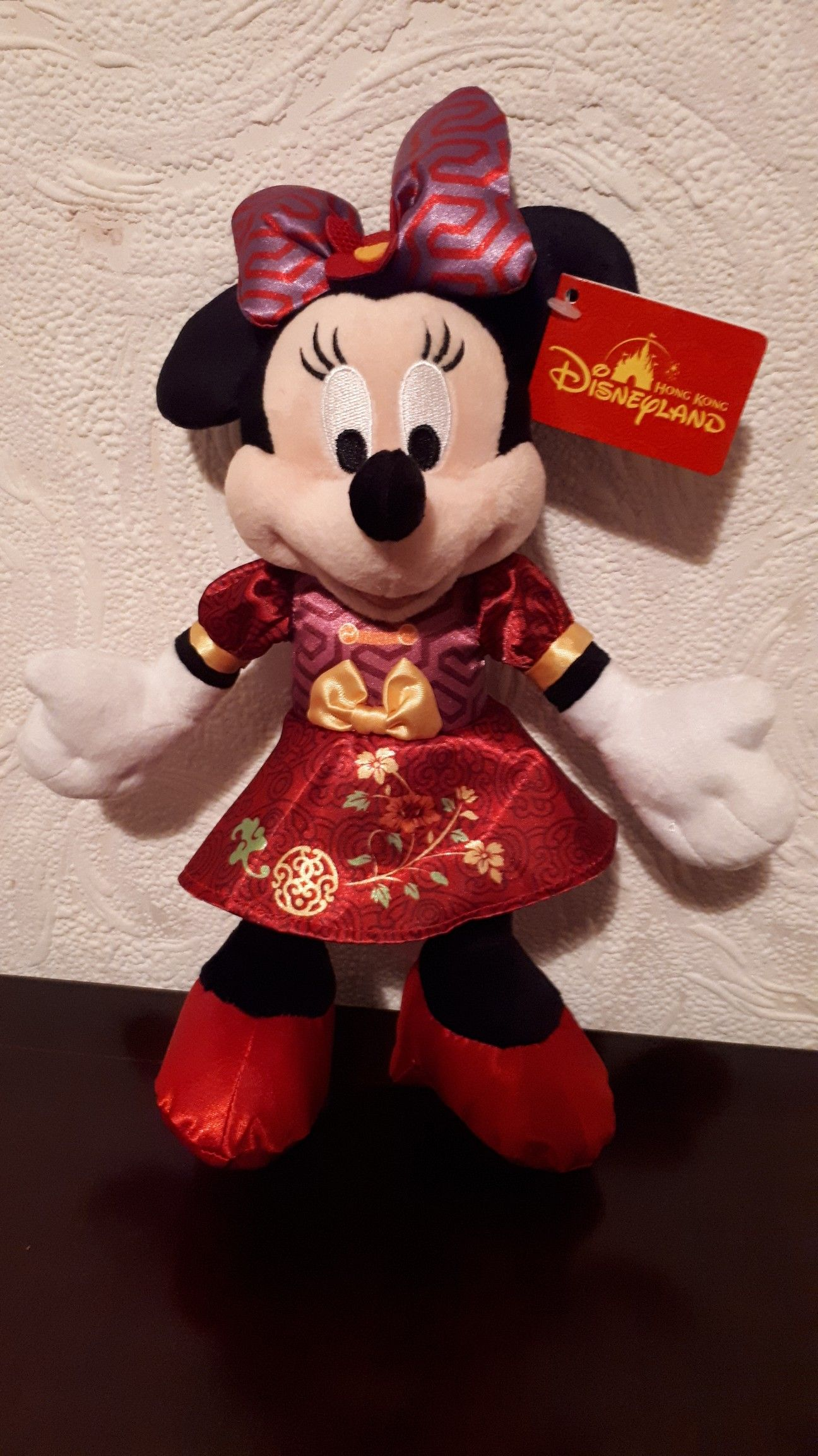 Hong Kong Disneyland Chinese New Year Minnie 2018 Mickey Mouse And Friends Disney Shop Teddy Bear Collection