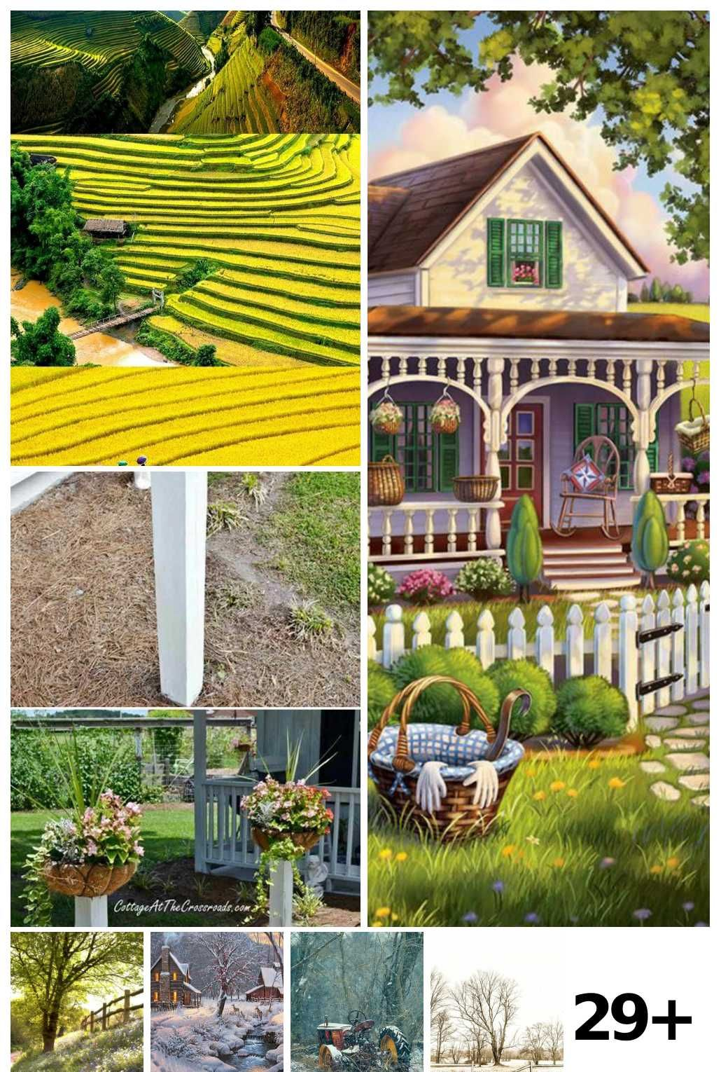 29 Landscaping Photos Farm Ideas in 2020 Best places in