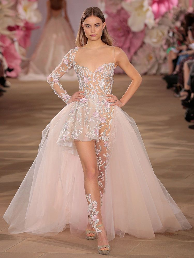 2017 Wedding Dress Trend You Need To Know About Pastels