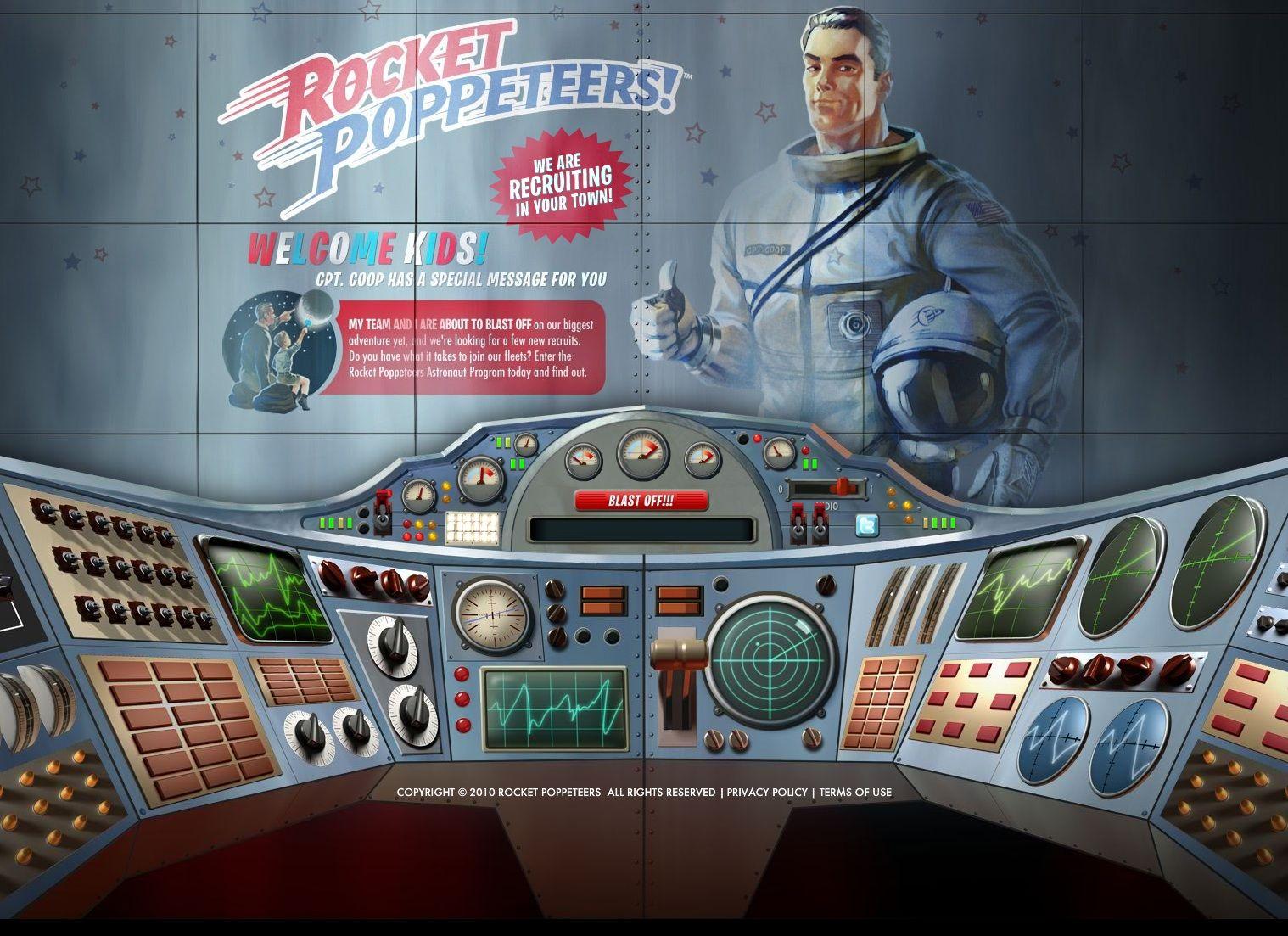 Kids Spaceship Command Board