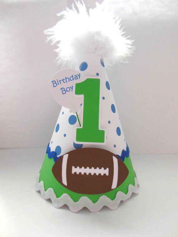 Football Birthday Party Hat