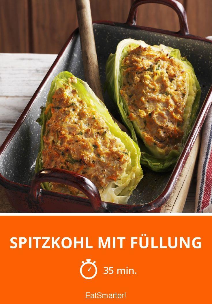 Spitzkohl mit Füllung #spitzkohlrezeptehackfleisch