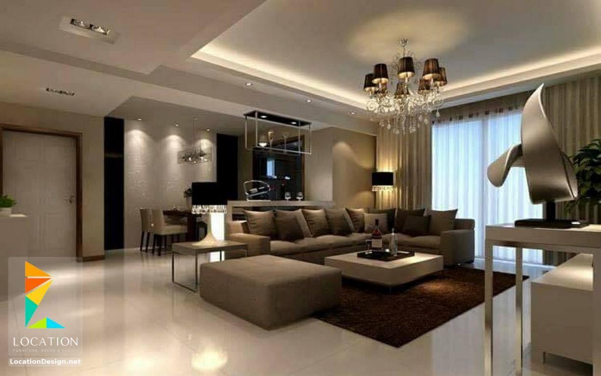 انتريهات غرف معيشة 2018 2019 Modern Classic Living Rooms لوكشين ديزين نت Korichnevye Gostinnye Stili Gostinoj Dizajnerskie Gostinye