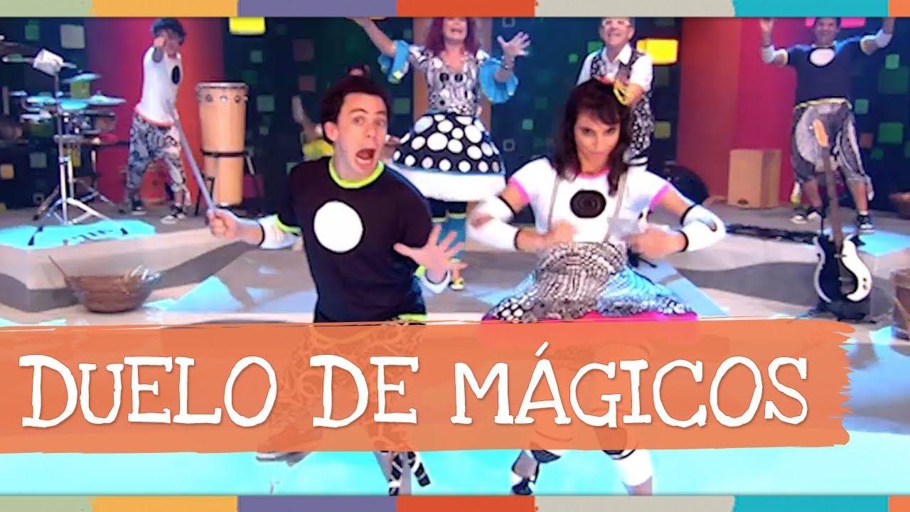 """Duelo de Mágicos - DVD 3D """"Show Brincadeiras Musicais da Palavra Cantada"""""""