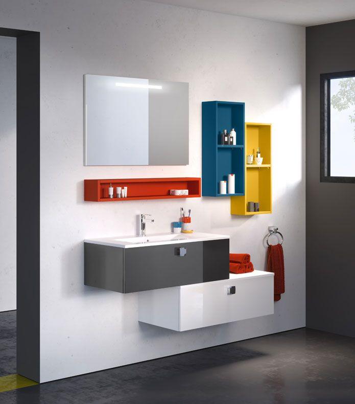 Mobilier SWING Salle de bains Pinterest - salle de bain ardoise