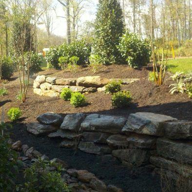 hillside landscaping design