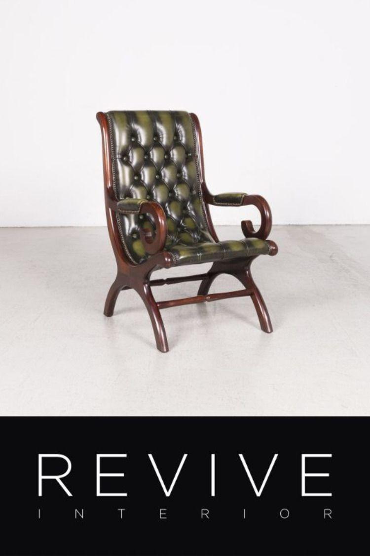 Produktdetails Stil Modern Breite 60 Material Leder Hohe 100 Farbe Grun Tiefe 80 Produktart Sessel Sitzhohe 4 Chesterfield Mobel Sessel Mobel Wohnzimmer