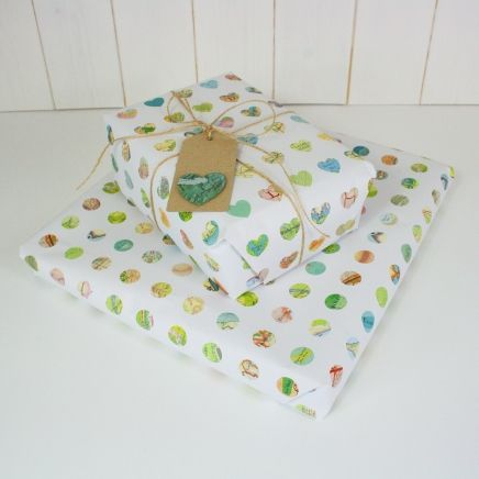 Map print wrapping paper | luxury gift wrap