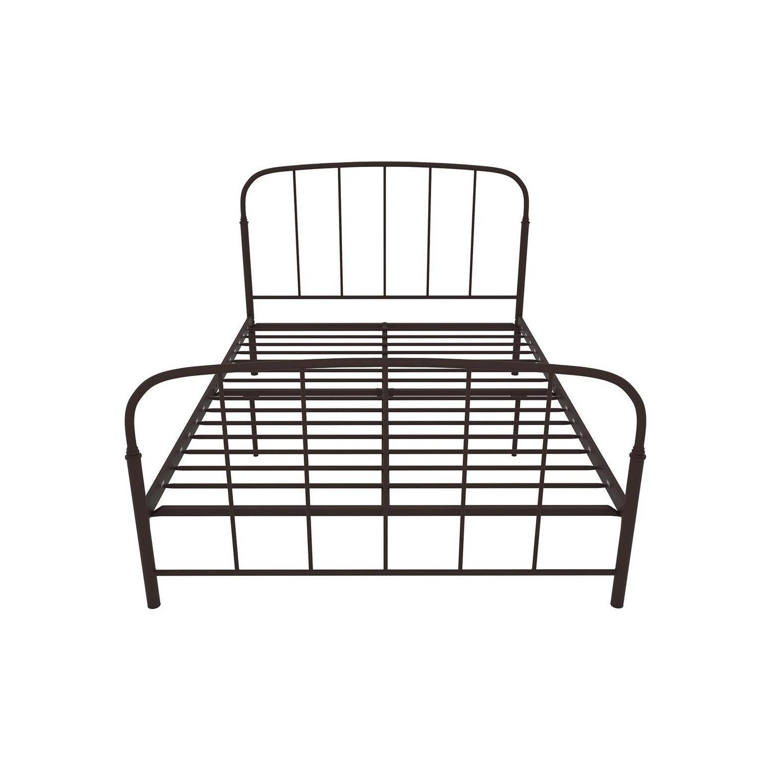 dorel home products lafayette metal bed metal beds twin beds and