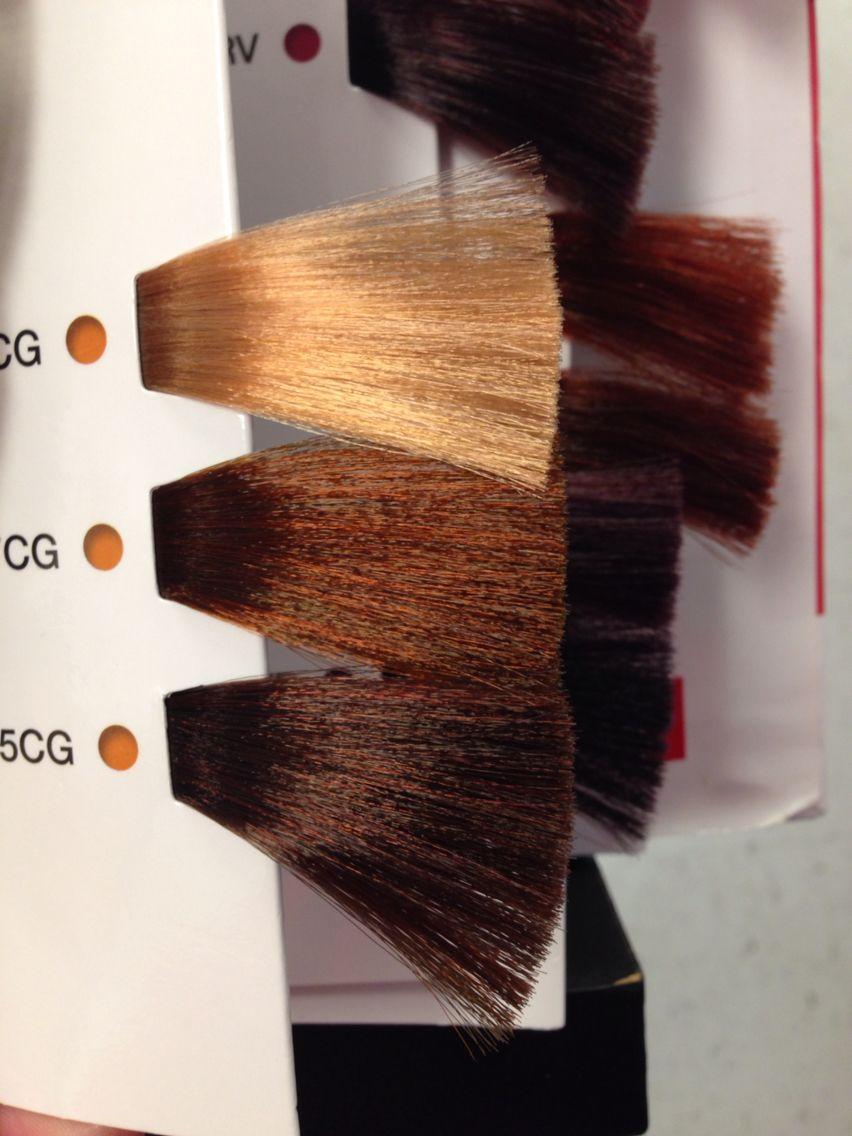 Matrix So Color Copper Gold Swatches Hair Color Formulas