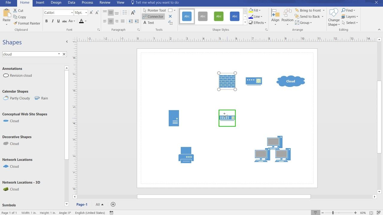 21 Auto Visio Network Diagram Stencils References #softwaredesign