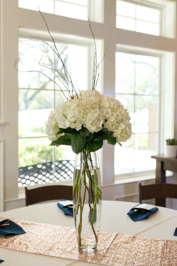 Navy Blue White Wedding Decoration Ideas Elegant Wedding