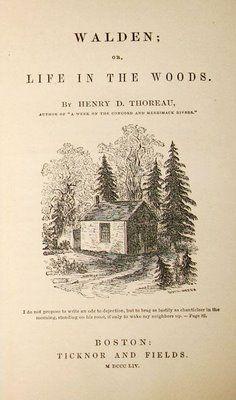 Walden Henry David Thoreau Books Walden