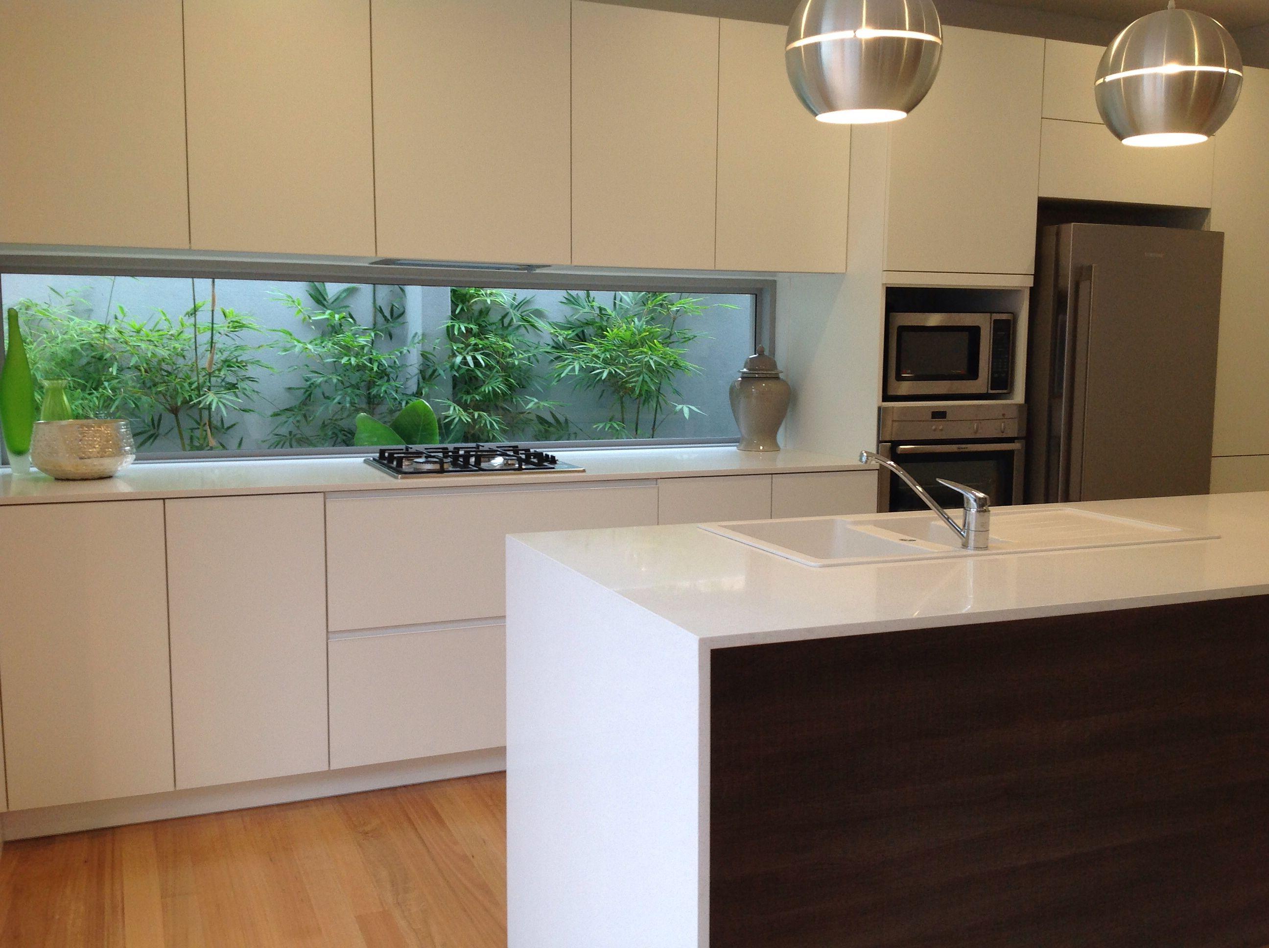 Window Splasback Modern Kitchen Home Kitchens