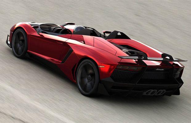 Lamborghini Aventador J  (sem capota e nem mesmo o para-brisa frontal)