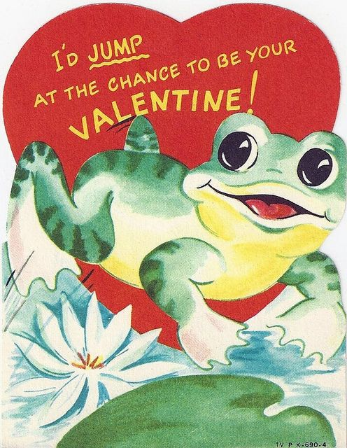 I'd Jump at the Chance to be Your Valentine! * 1500 free paper dolls at Arielle Gabriel's The International Paper Doll Society also at The China Adventure of Arielle Gabriel free paper dolls *