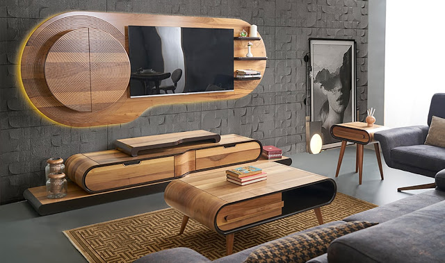tv gerate 2 wall unit decor interior design dining room tv room design