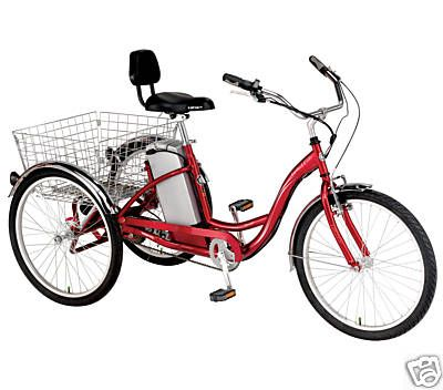 Izip Tricruiser Electric Bike 3 Wheel Trike Trike Bicycle Adult Tricycle