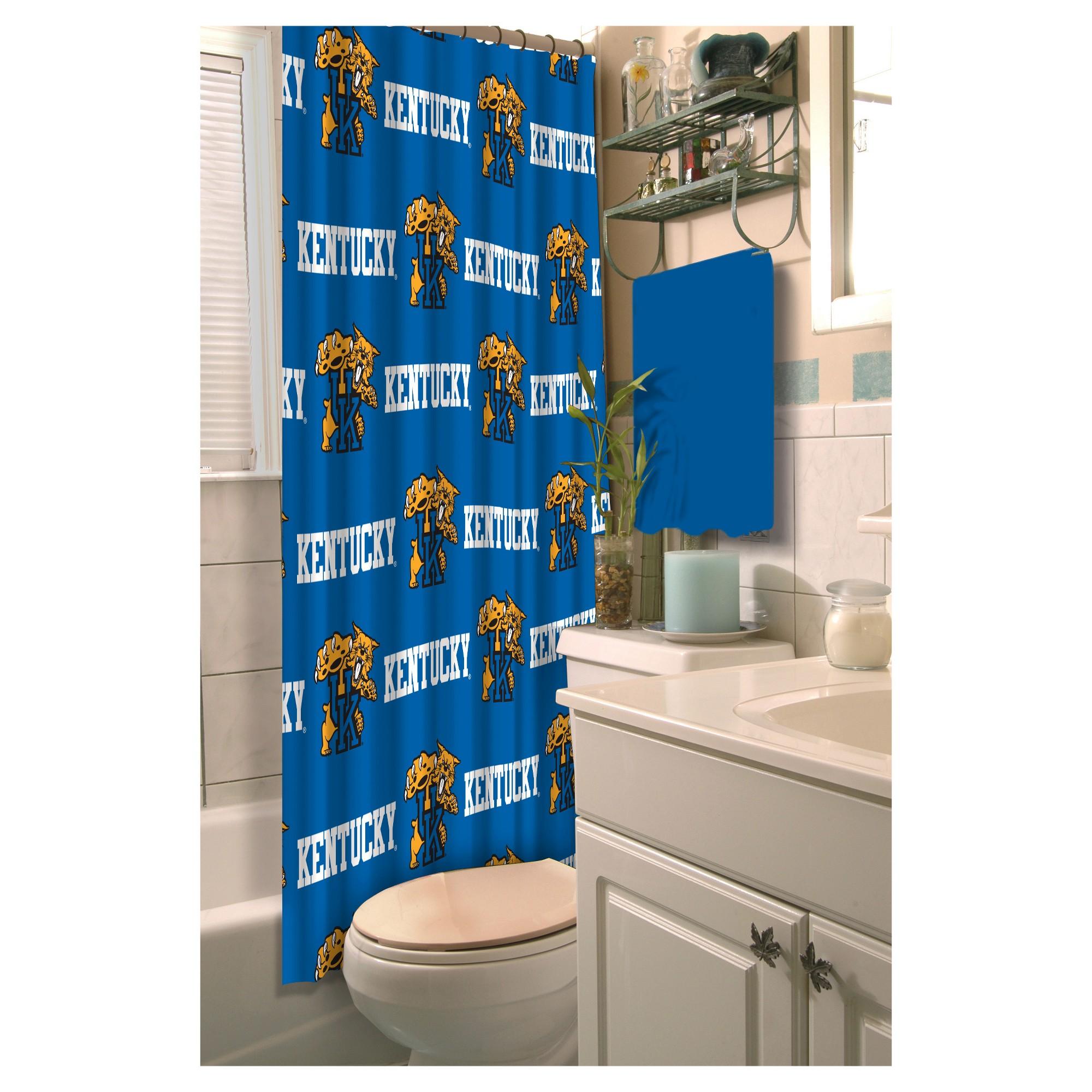 Ncaakentucky wildcats shower curtain kentucky wildcats products