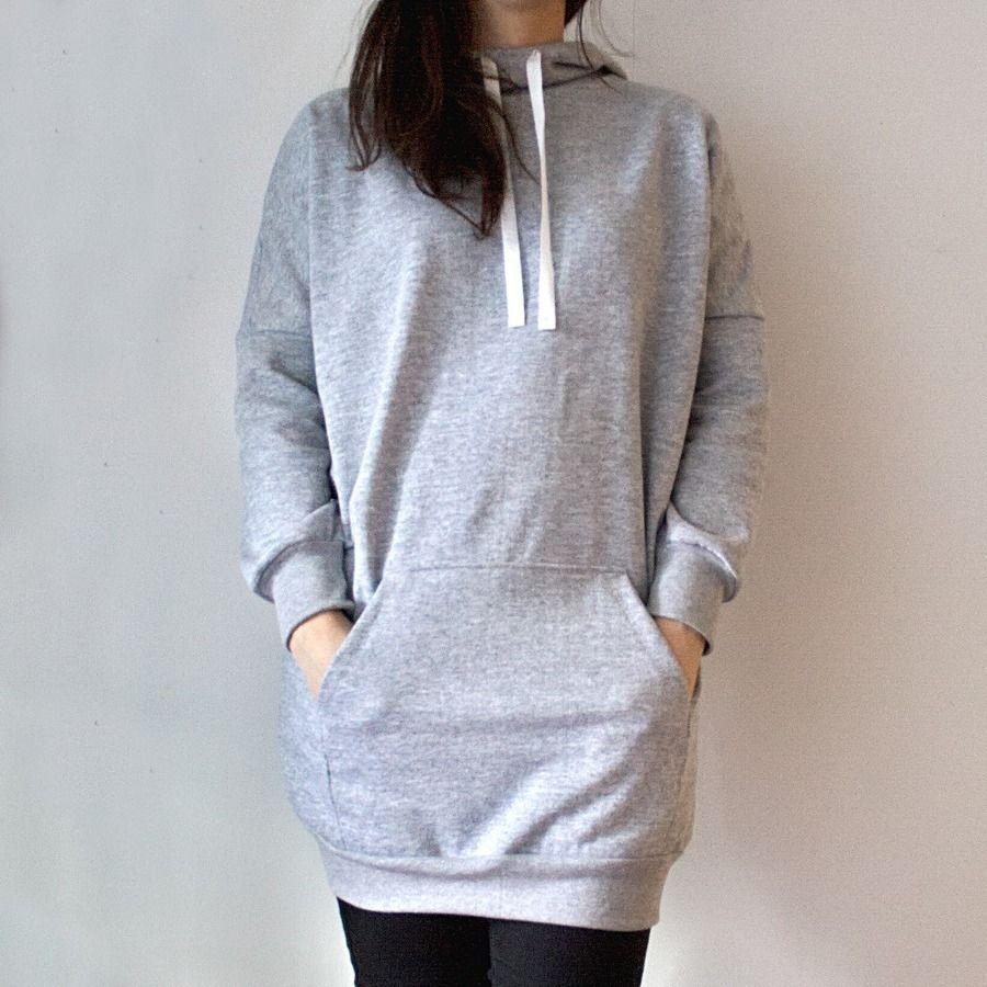 KangaROOS Damen Sweatshirt Schalkragen