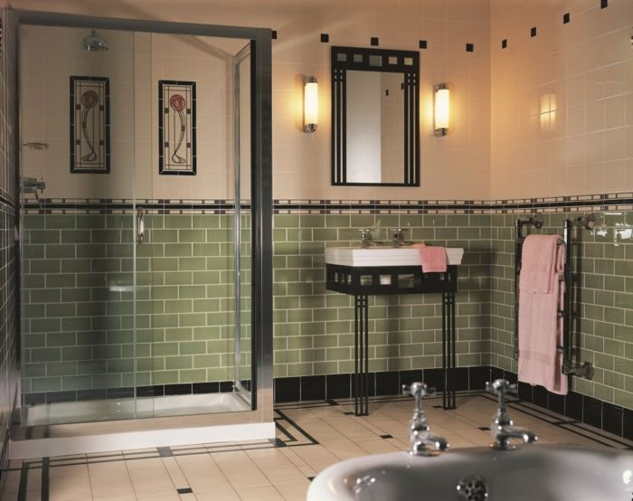 Maison bois Périgny (17) Maisons en bois Pinterest - salle de bain carrelee