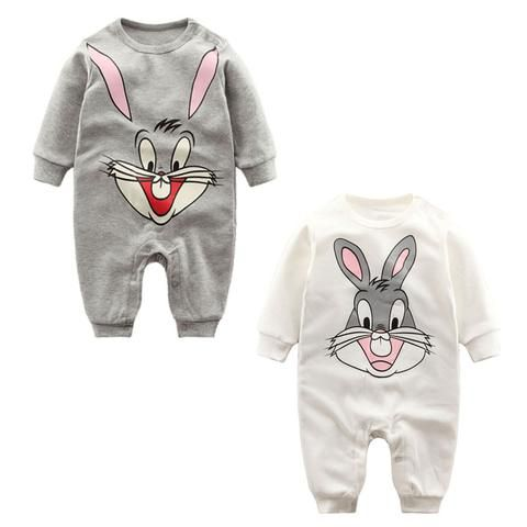 eb548eef48cf Baby Romper 2018 Long Sleeve 0-12M Baby Clothes Overalls for Newborn ...