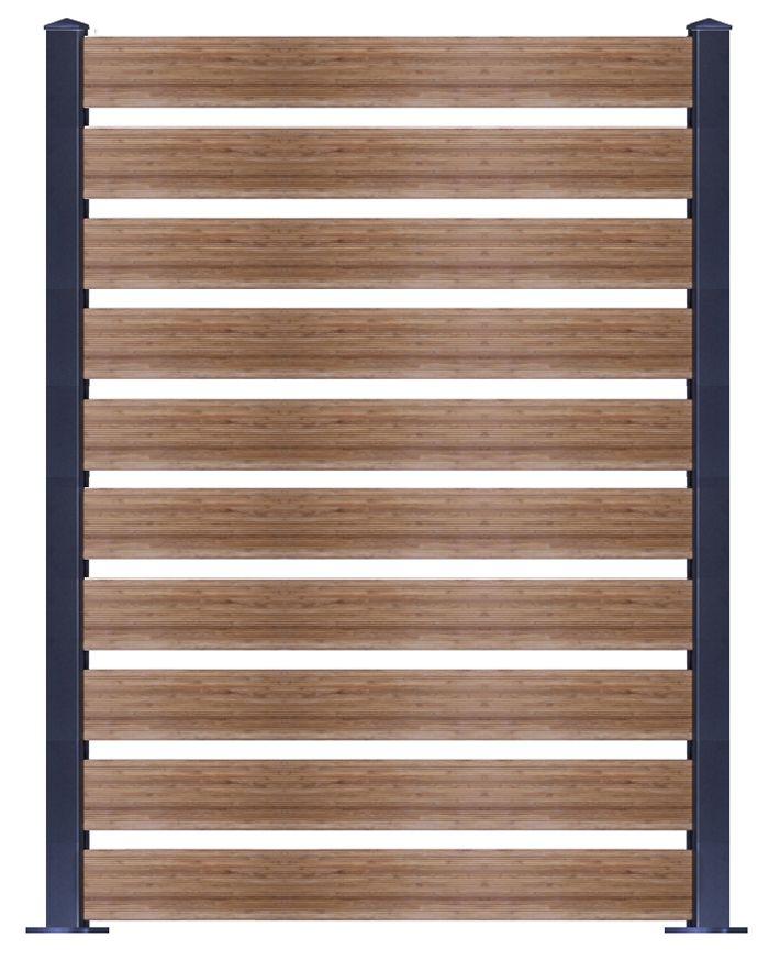 hohes Bambus Sichtschutz-Element