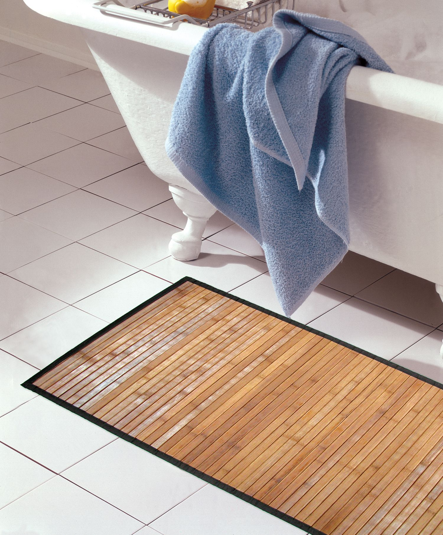 A Bamboo Step Out Mat Spa La La 14 99 Bath Mat Bath Bamboo