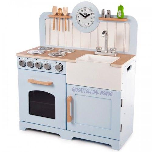 Country Kitchen cucina giocattolo in legno Tidlo John Crane ...