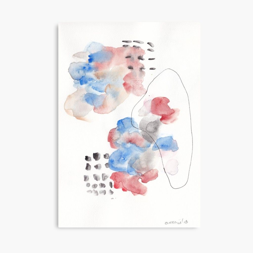 180805 Subtle Confidence 13 Watercolour Abstract Art Prints