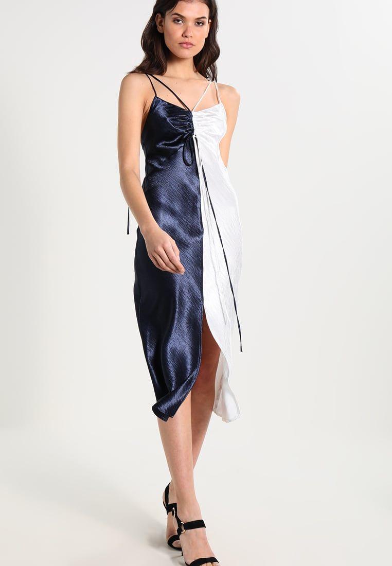 Cocktailkleid / festliches Kleid - navy blue | Topshop, Navy blue ...