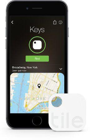 Tile TLE02001 Gen 2 Bluetooth Tracker and Easytouse App