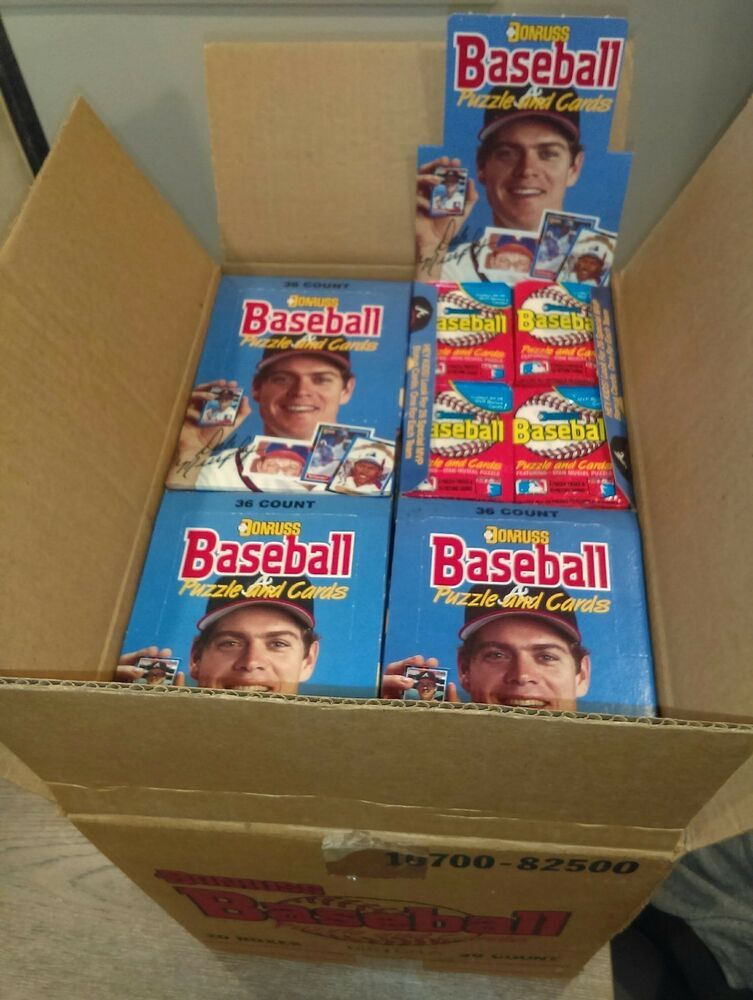 1988 donruss baseball cards wax packs x3 possible
