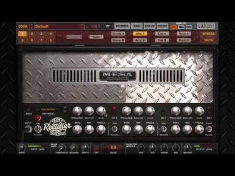 Amplitube Mesa Boogie Overview Multimedia